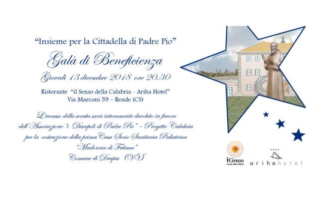 Charity Gala evening 13/12/2018 – Cosenza